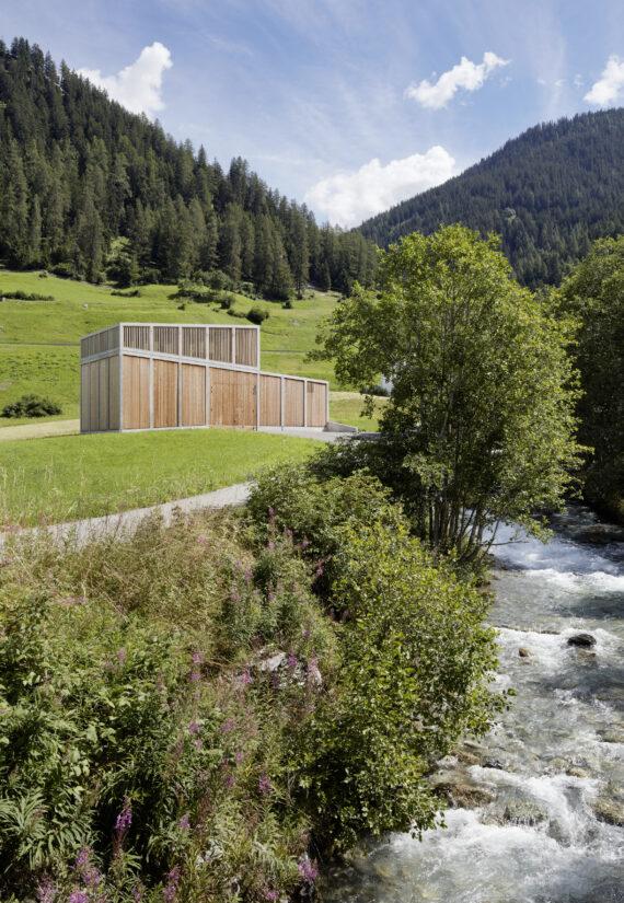 Neubau Kraftwerke Ragn d' Err