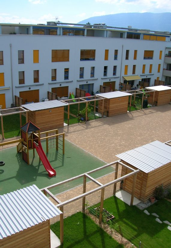 Immeubles de logements coopératifs