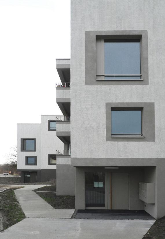 3 immeubles de logements protégés, Sugiez (FR)
