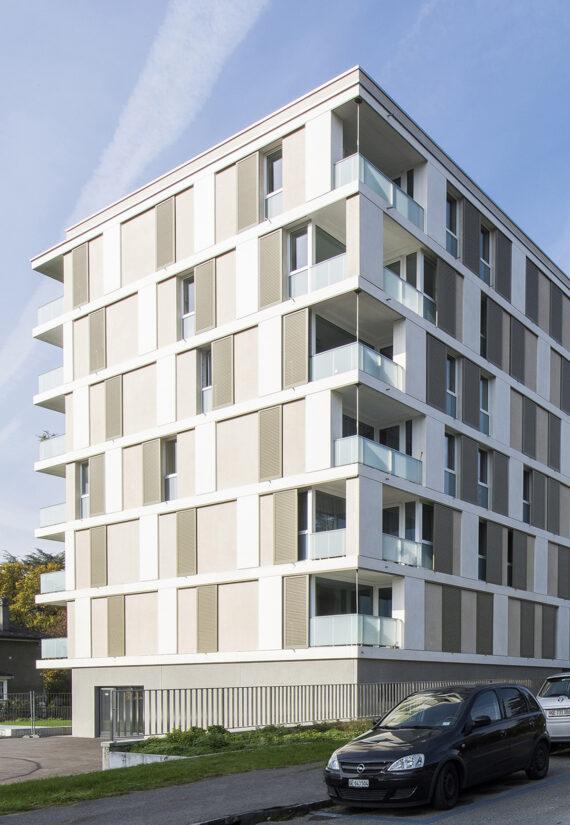 Immeuble de logements HBM (LUP) Joli-Mont 18-20-22