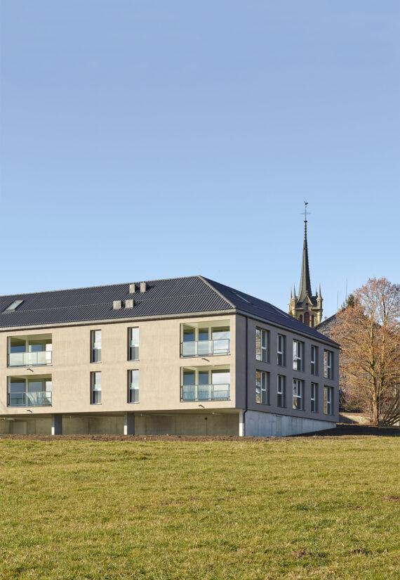 Immeubles de 8 logements à Onnens