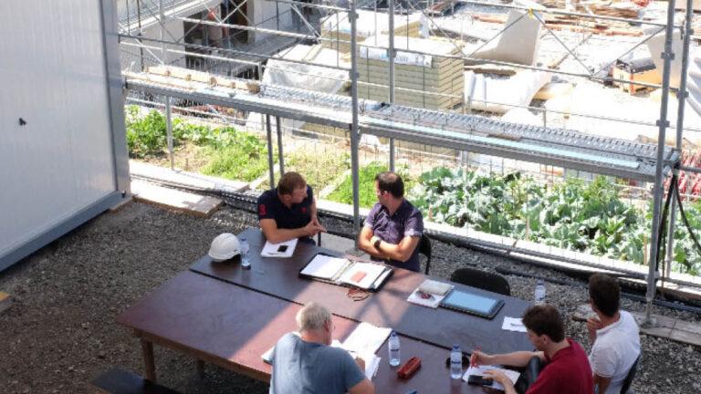 Visite de l'Espace Chantier à Meyrin